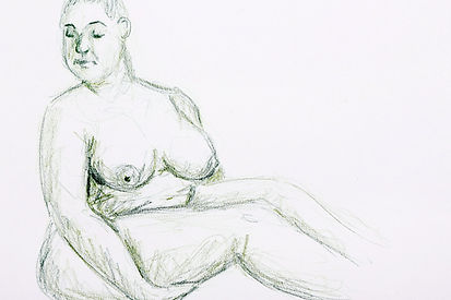 Life Drawing, 2017 - Clothing Optional V