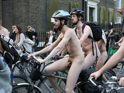 Bikes in the nude!