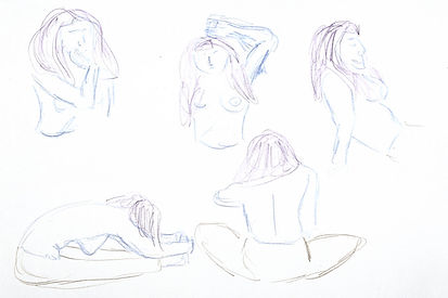 Life Drawing, 2016 - Clothing Optional III