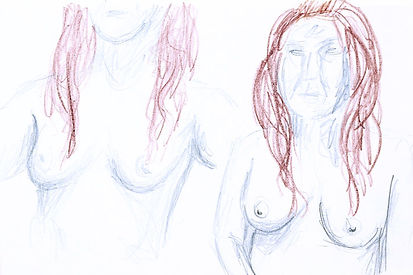 Life Drawing, 2016 - Clothing Optional II