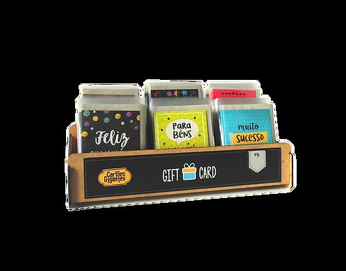 Combo Cartão Gift - 120 unid | CB GC120