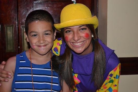 childrens clown birthday party