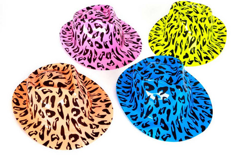 Neon Hats - 75cents ea.
