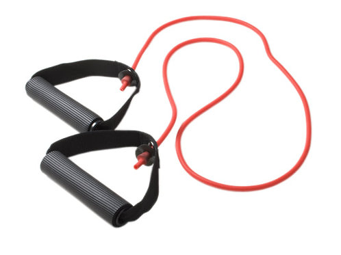Resistance band with soft handles