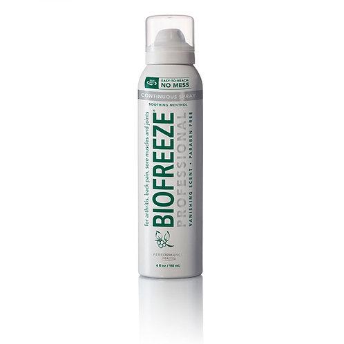 Biofreeze-360 degree spray