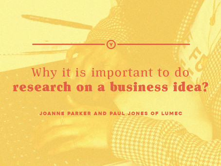 Why it is important to do research on a business idea?