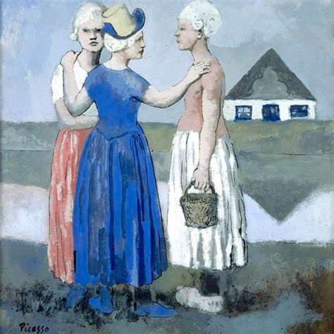 women of West Friesland Picasso