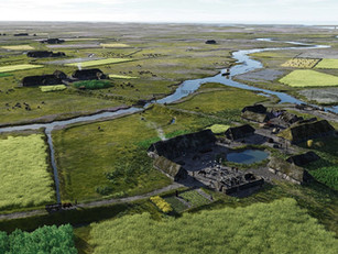 The shipwrecked people of the salt marshes