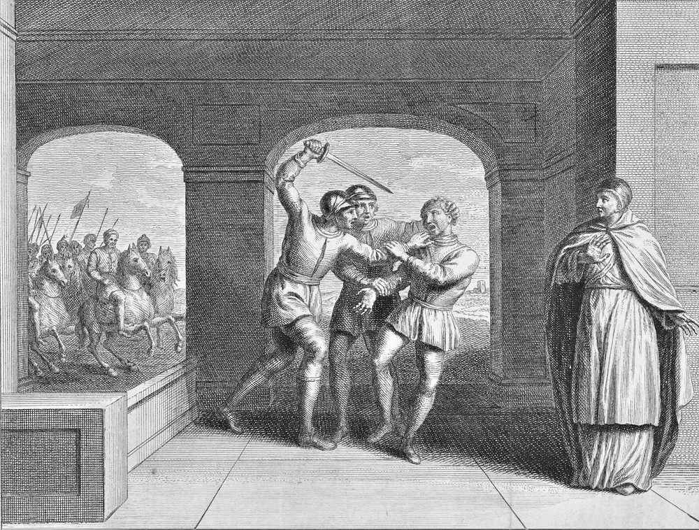 assassination Godfrid the Sea-King of West Frisia