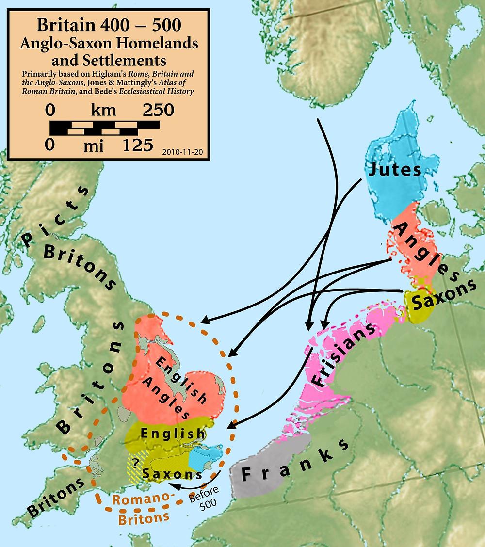 Migration Period North Sea area
