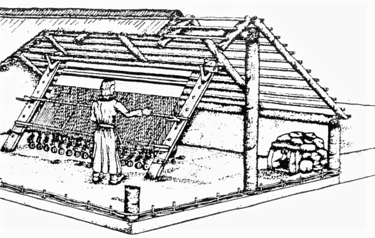 pit house or Grubenhaus