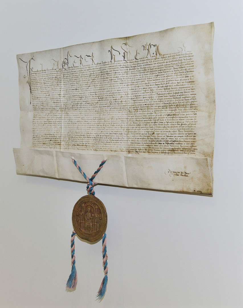 Freedom privileges of Frisia AD 1417