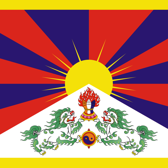 flag tibet