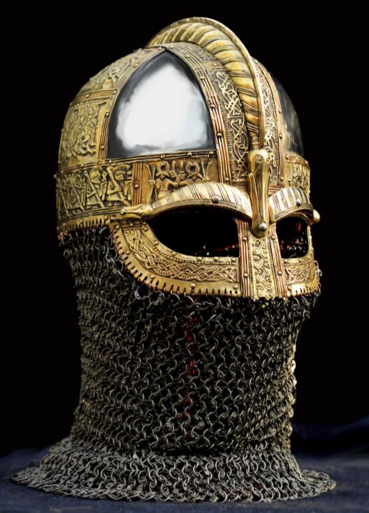 vendel helmet Hallum Frisia