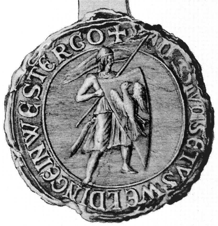 seal of Magnus Forteman of Frisia