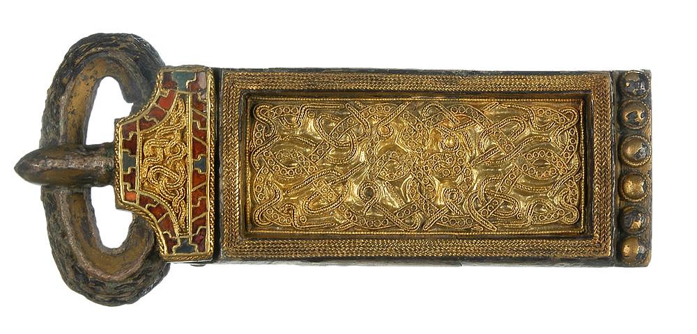early-medieval buckle Rinasburg / Rijnsburg Frisia