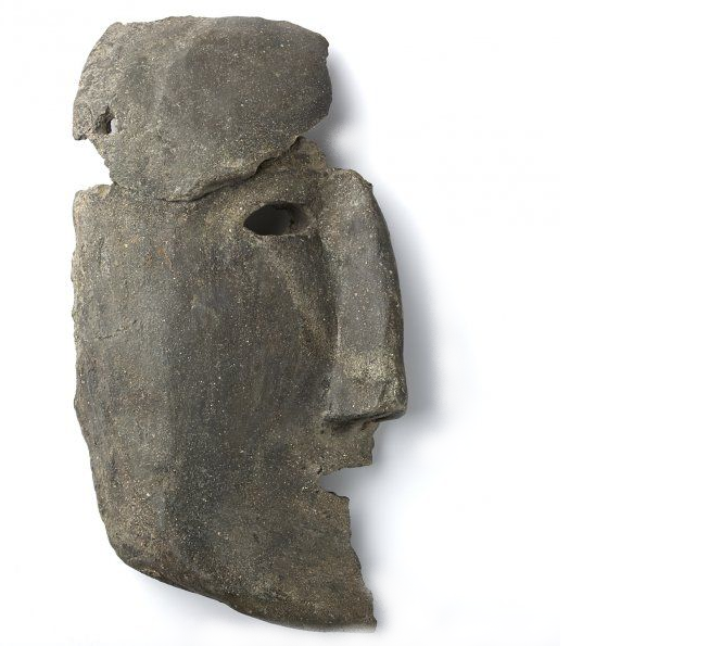 mask of Boerdam Middelstum Frisia
