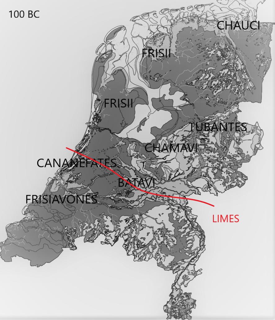 Frisians 100 BC - AD 650