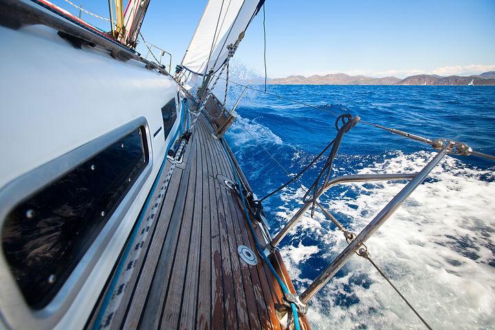 sailing yacht side