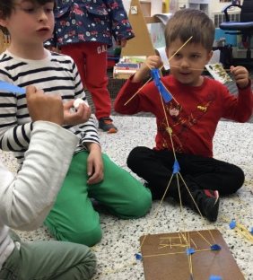 Engineering Challenge #2 Expo: How Can You Build the Tallest Tower?