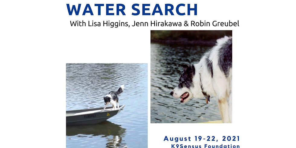HRD Dog - Water Work with Lisa Higgins > IA August 2021