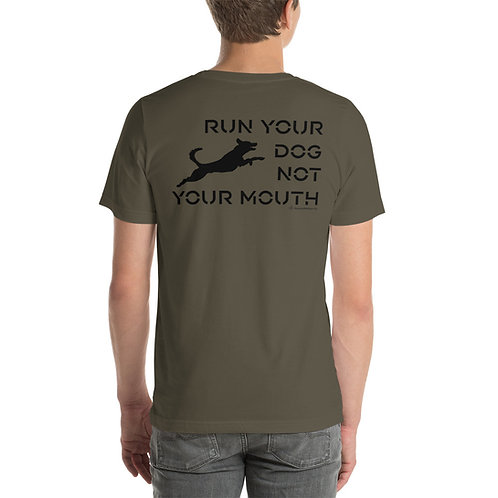 Pointy Run Your Dog Short-Sleeve Unisex T-Shirt