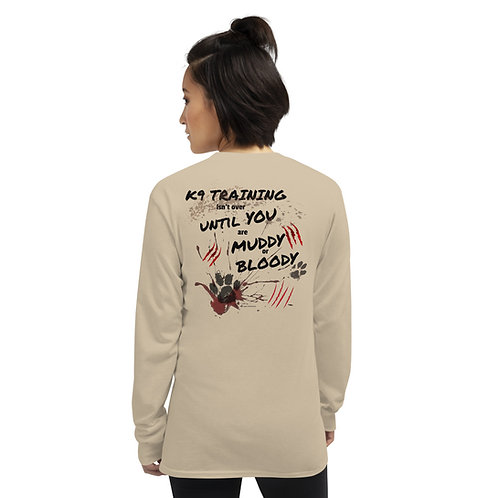 Muddy & Bloody Unisex Long Sleeve Shirt