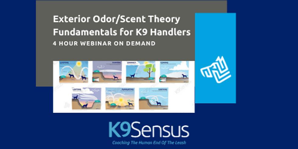 On Demand Webinar > Exterior Odor/Scent Theory Fundamentals