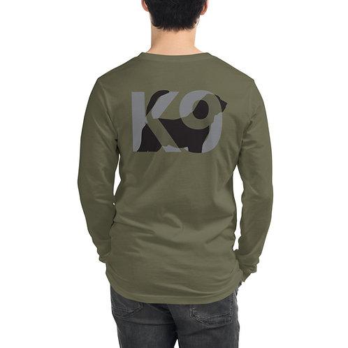 Bloodhound K9 Long Sleeve Tee