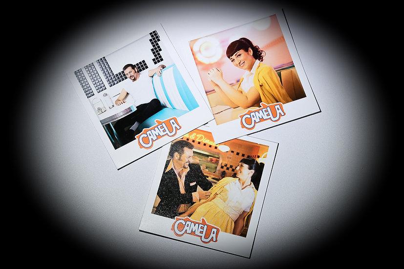 Pack 3 fotos postales adhesivas