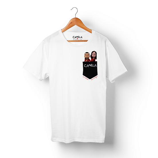 """Camiseta """"En el bolsillo de mi corazón"""""""