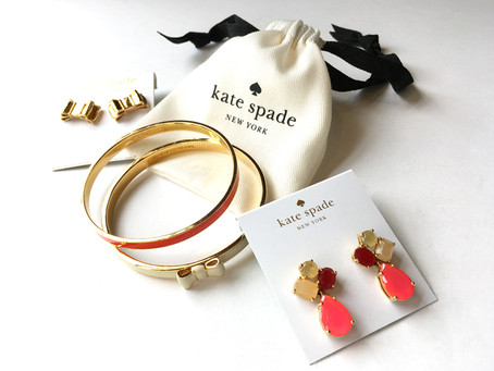 New Arrivals: Kate Spade jewelry.