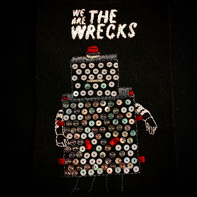 embroidery, the wrecks