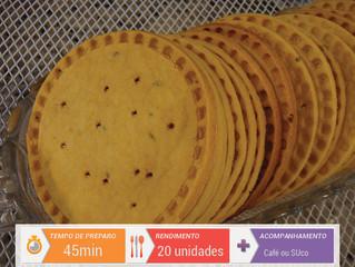 Biscoito Tipo Cracker de Fubá de Canjica