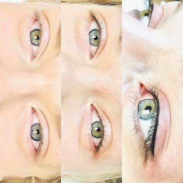 Eyeliner PMU, MANUK Permanent Make-up, Feine Eyeliner PMU, MANUK Permanent Make, Eyeliner, Wimpernkranzverdichtung, MANUK permanent Make-up Thun, Thun, natürlichen PMU, PMU, Augen Permanent Make-up, Schönheit,