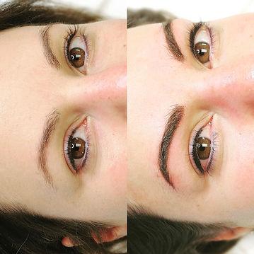 MANUK Permanent Make-up, Brauen Permanet Make-up, Brauen PMU, PMU, Permanent Make-up, Sofort nach PMU, Augenbrauen, Schönheit, Brauen, natürlicher Effekt, natural PMU, natürlichen Permanent Make-up, Thun