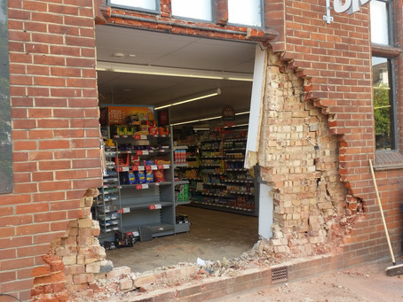 EAP Property Group aids in aftermath of Halstead Co-op 'Ram-Raid'