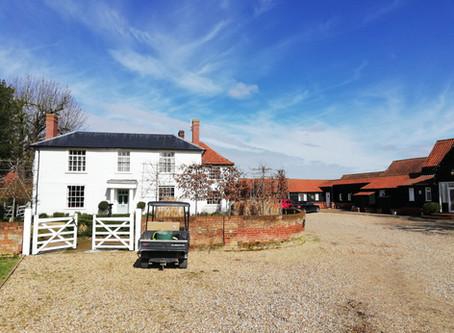 Update on saving the 17th century baronial barn