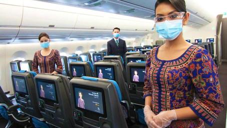 Singapore Air, primera aerolínea en vacunar a su tripulación contra el Covid-19