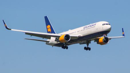 Icelandair transportó un equipo de investigadores a la Antártica en un Boeing 767