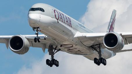 Qatar Airways operó el primer vuelo con tripulación y pasajeros vacunados contra el Covid-19