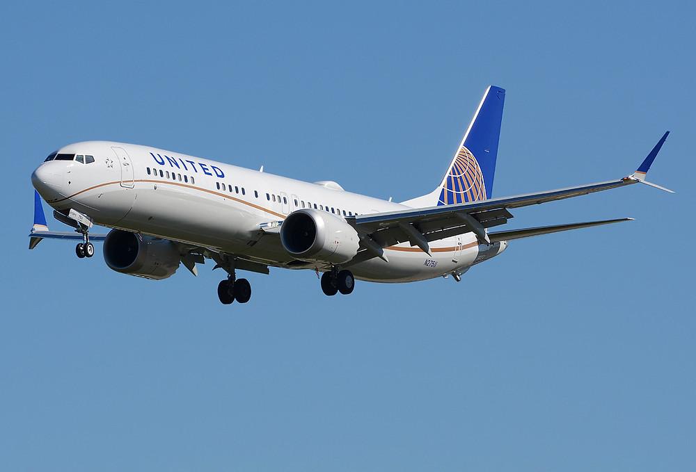 Boeing 737-9 MAX de United Airlines