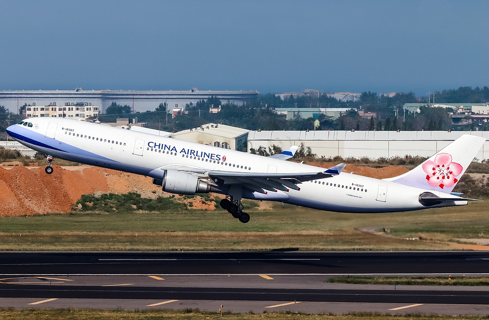 China airlines taiwan nombre covid