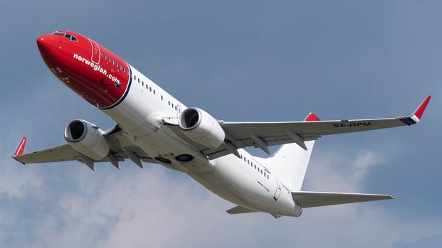 ¿Cómo funcionaba el largo radio de Norwegian?