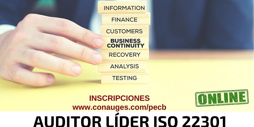 AUDITOR LÍDER ISO 22301