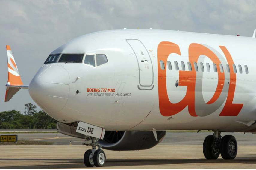 Boeing 737 max Gol linhas aereas