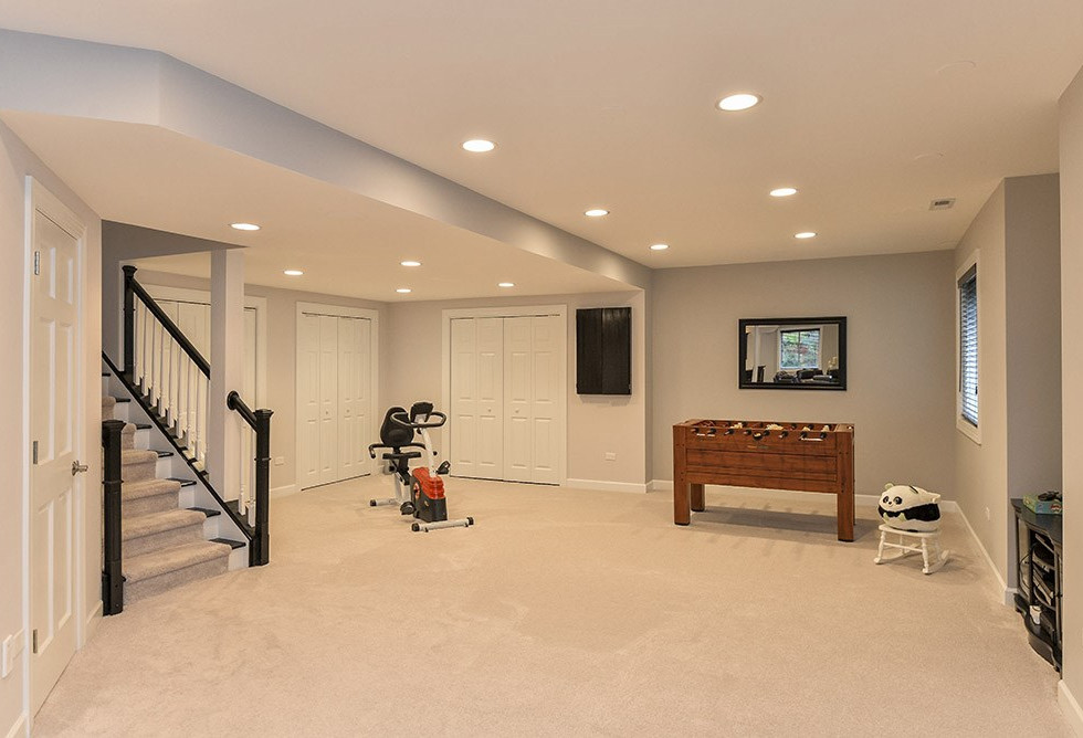 Basement stairs entrance - New Canaan, CT