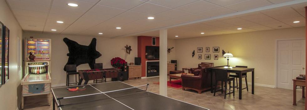 Basement Social Area - Fairfield, CT