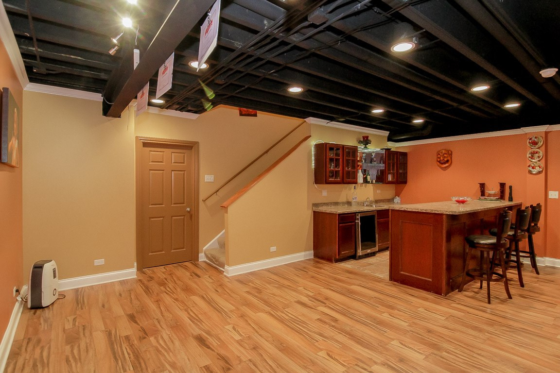 Basement Stairs Entrance - Redding, CT