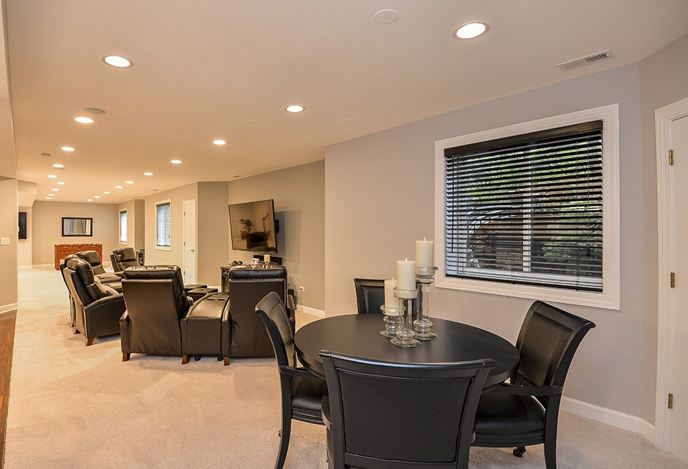 TV Room + Social space- New Canaan, CT